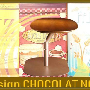 Design CHOCOLAT NOIR