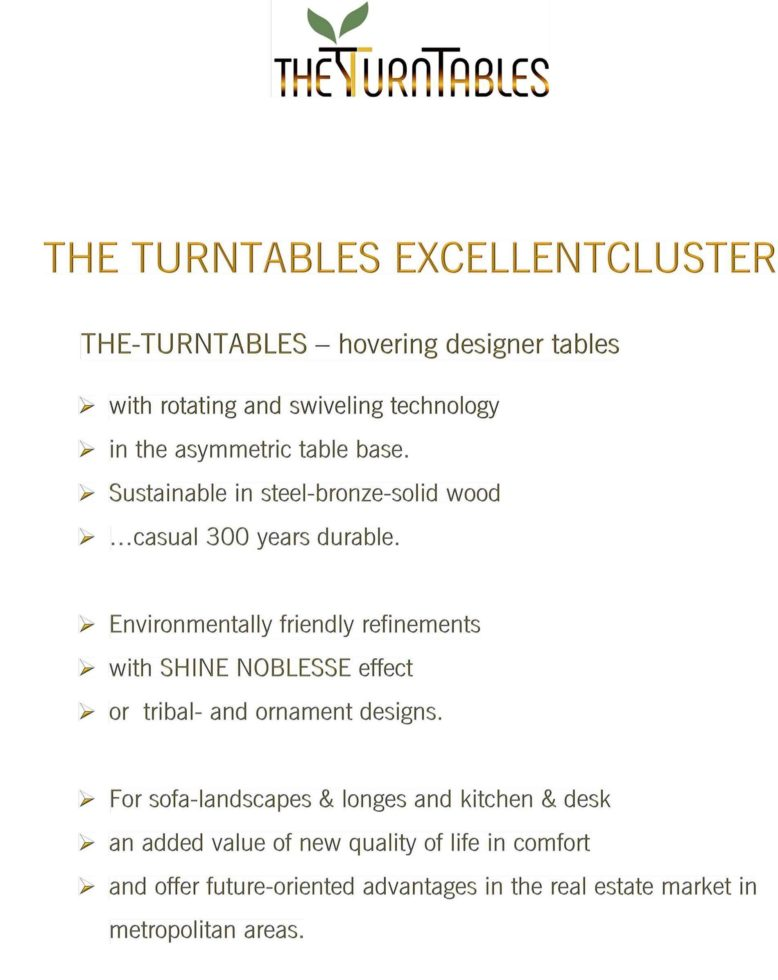THE TURNTABLES EXCELLENTCLUSTER